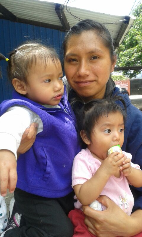 Blanca is one of our most faithful worker with the babies.