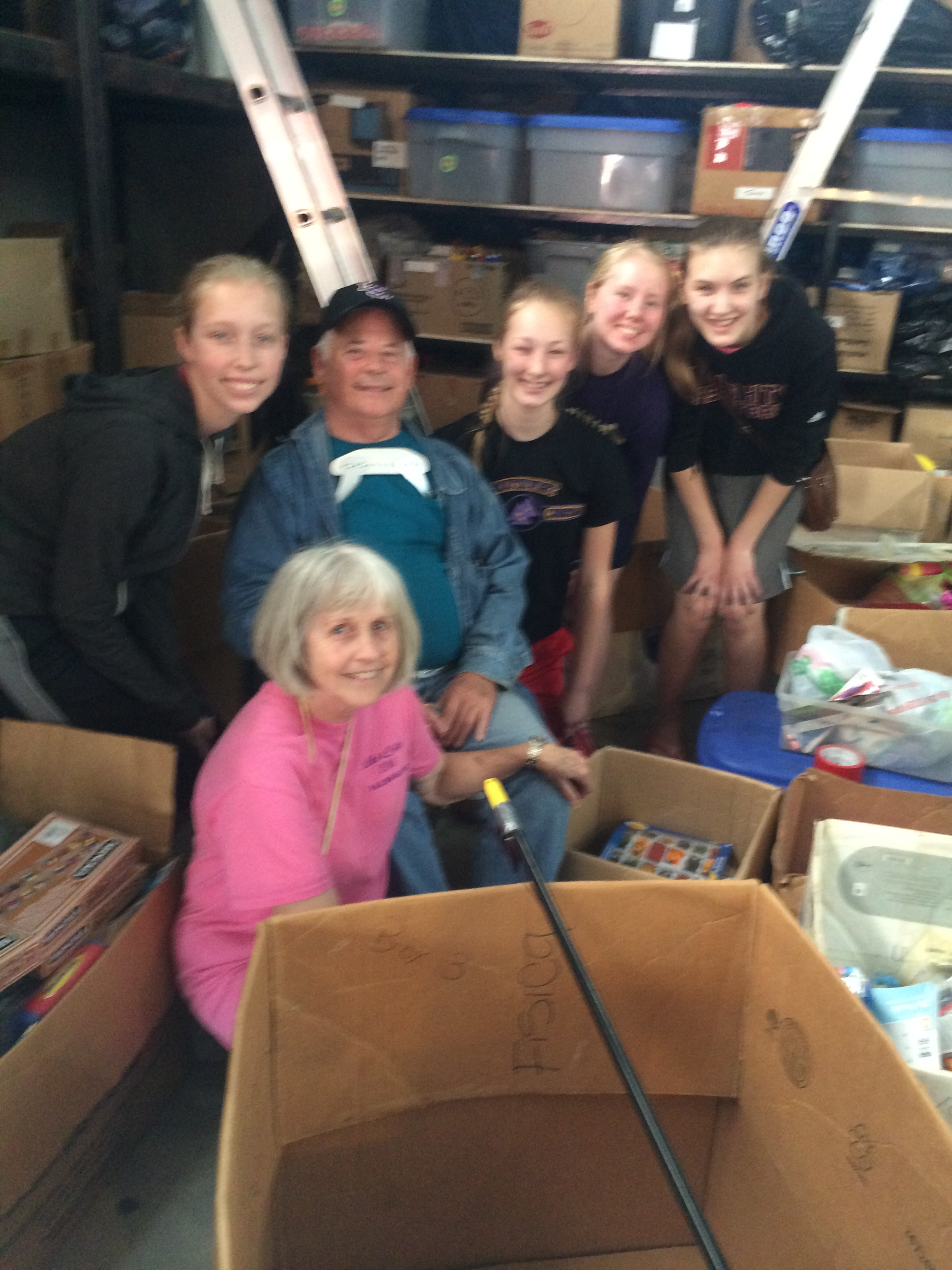 Chicago Christian Academy helping with Christmas