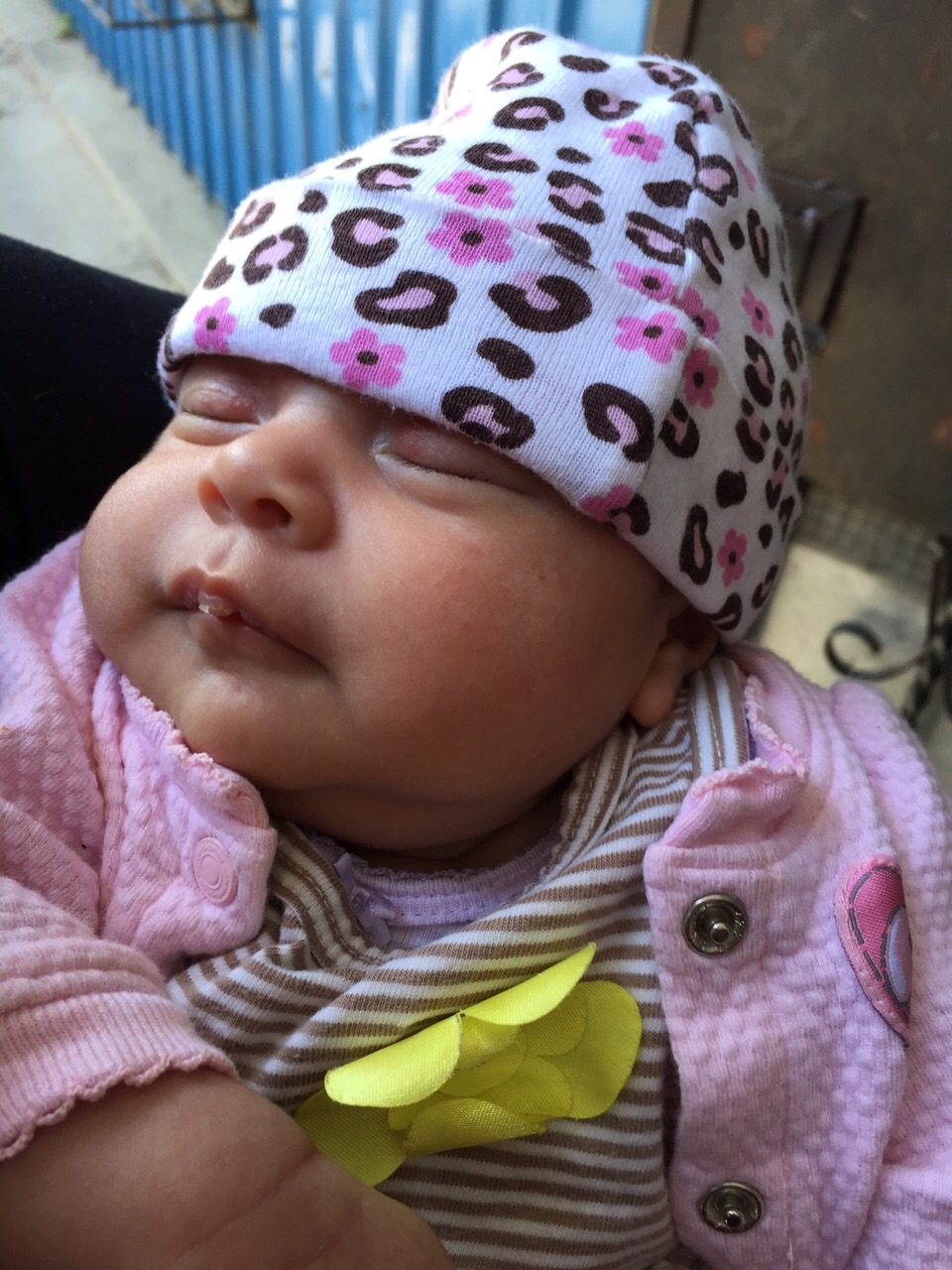 Emily, our newest grandchild