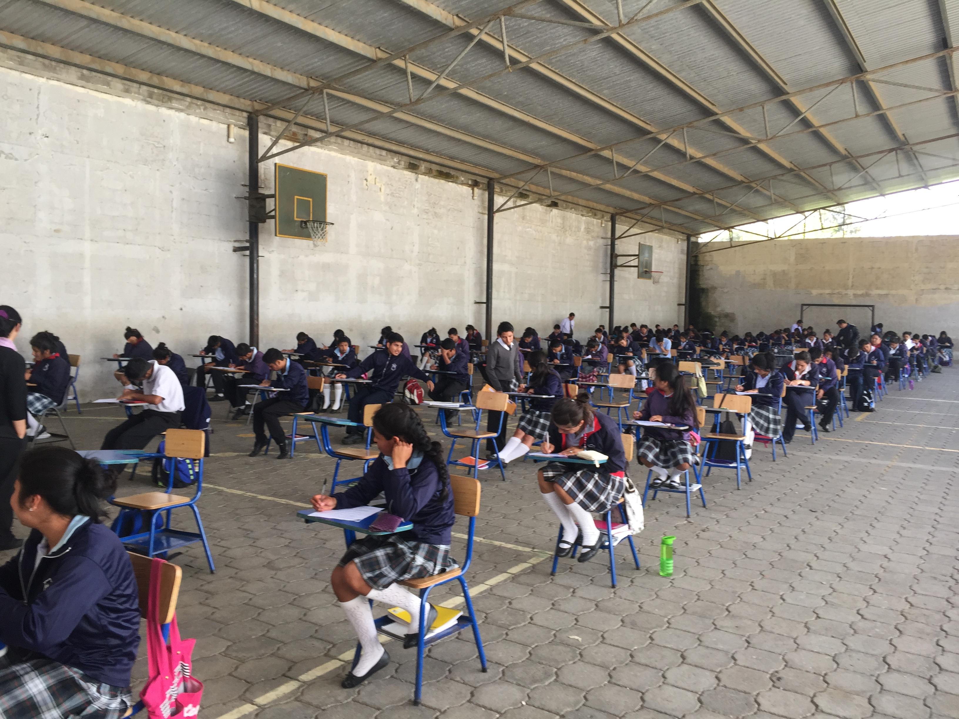 Quarterly high schools exams
