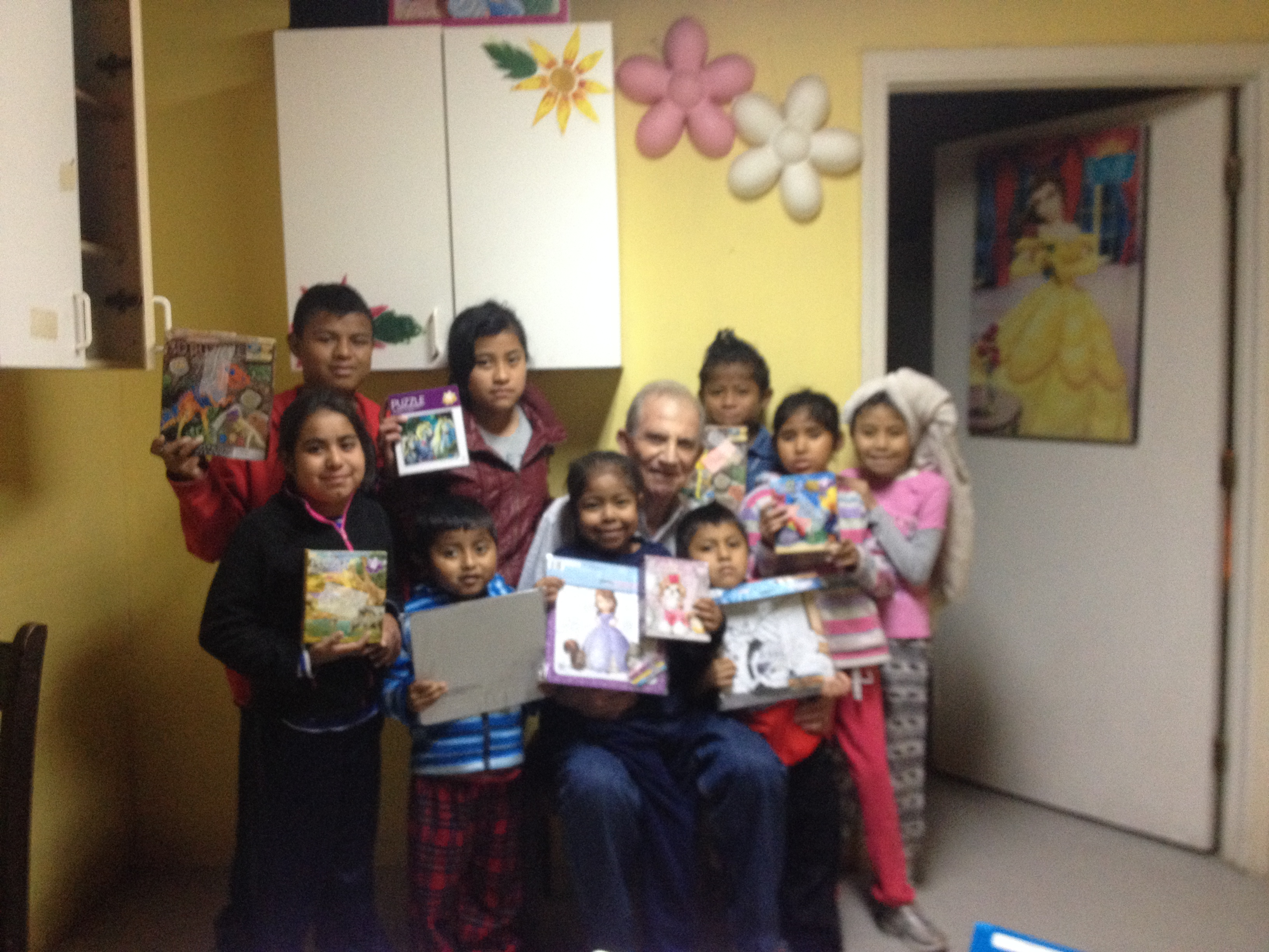 Don with the dialysis children