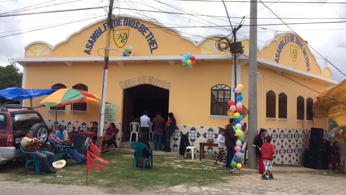 Newest church in Chiche' Quiche'.