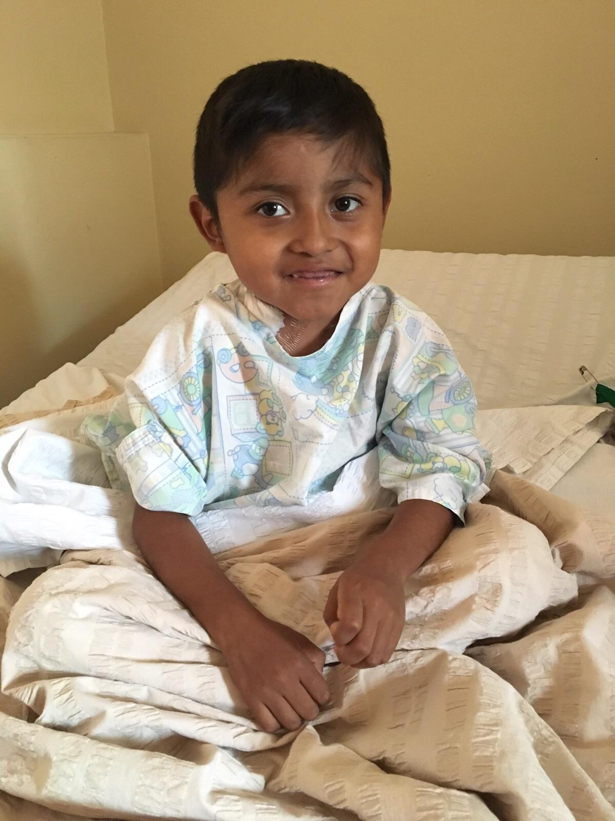 Keiser prior to surgery