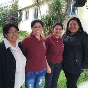 Irma Yolanda, Angelina, Lily and Analy