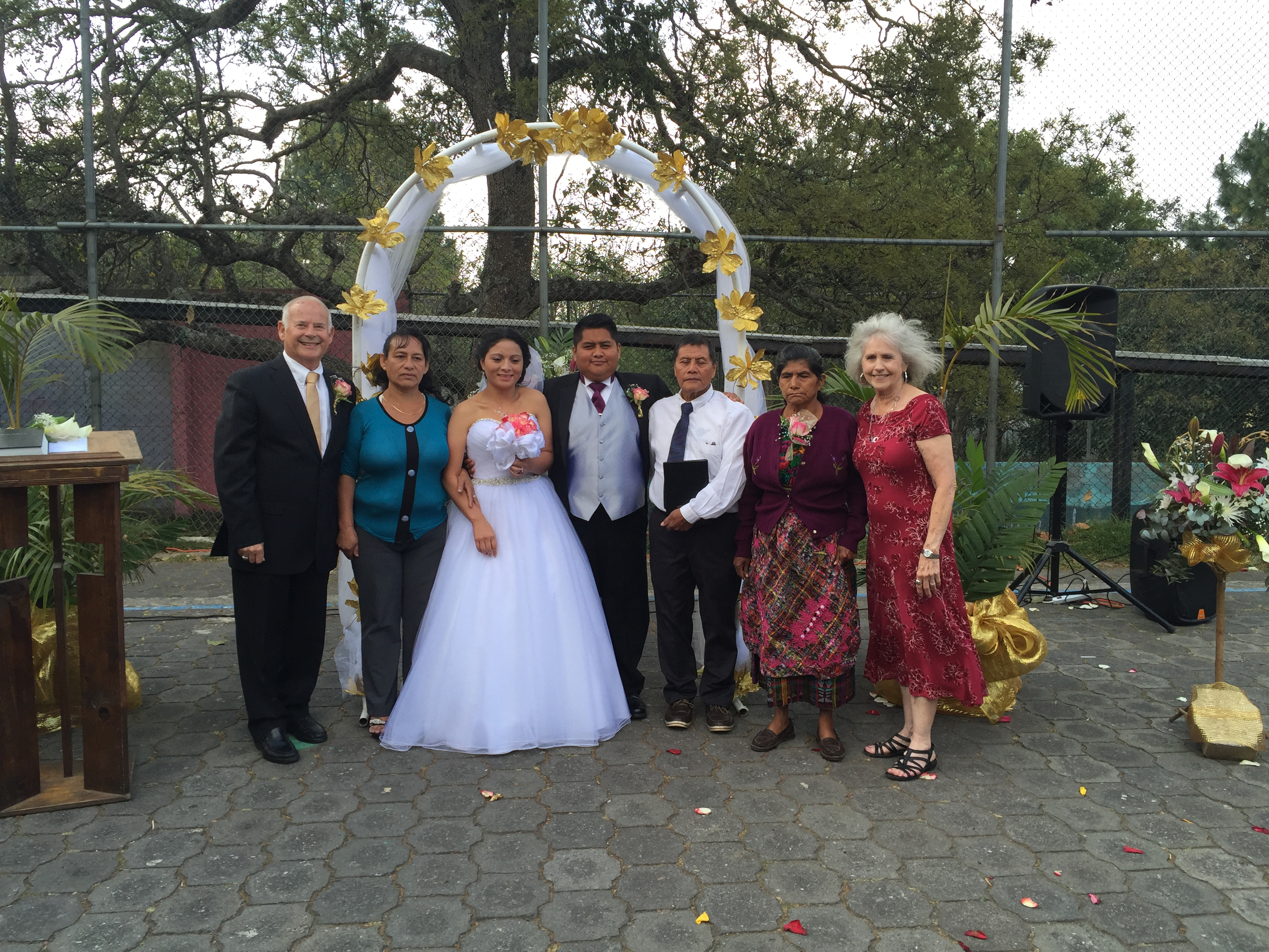 The parents with Jacob and Ana Ruth