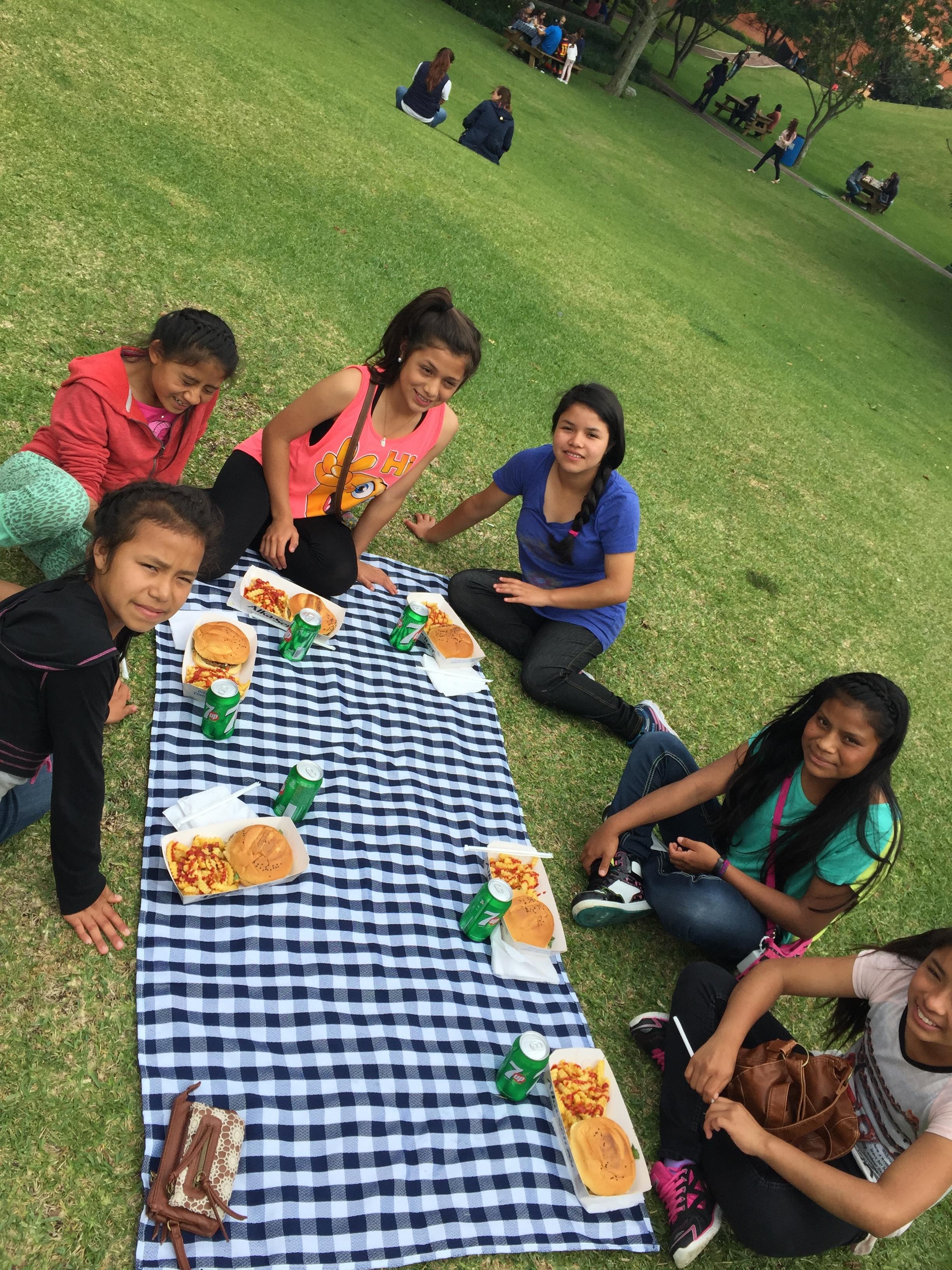 Good grades make for a picnic