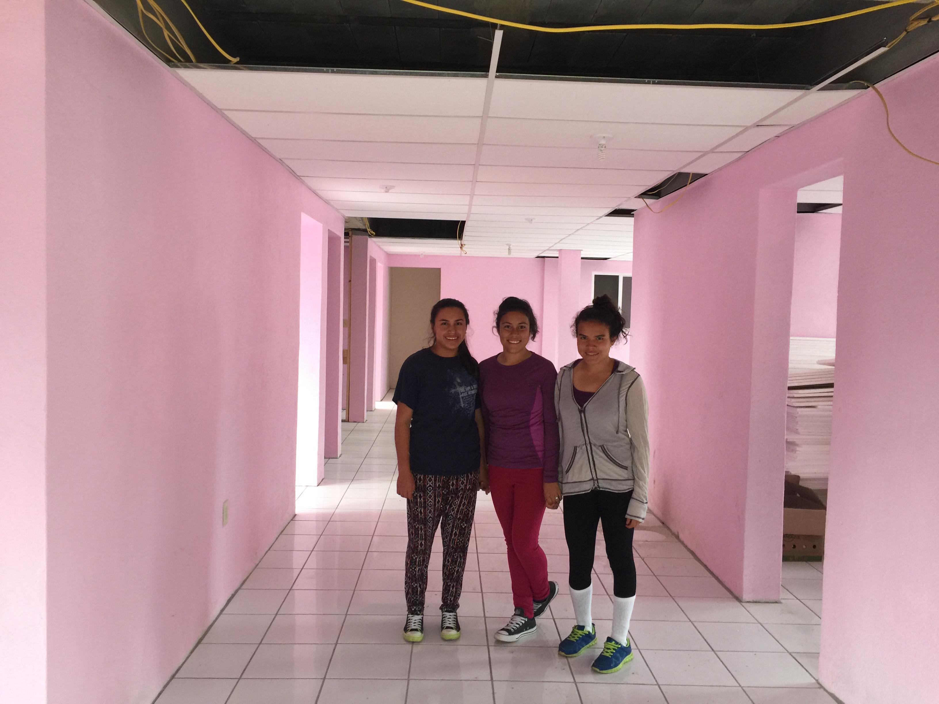 Girl's floor in dialysis dorm