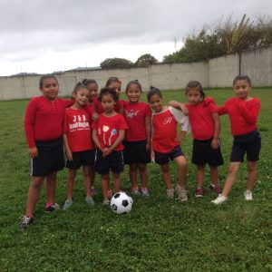 Our younger soccer team